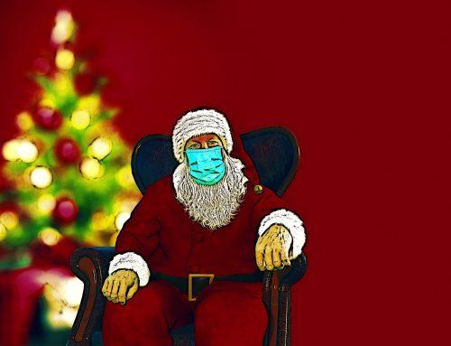 Ho,Ho,Ho…. Corona Weihnachten – da vergeht selbst dem Weihnachtsmann das Lachen.